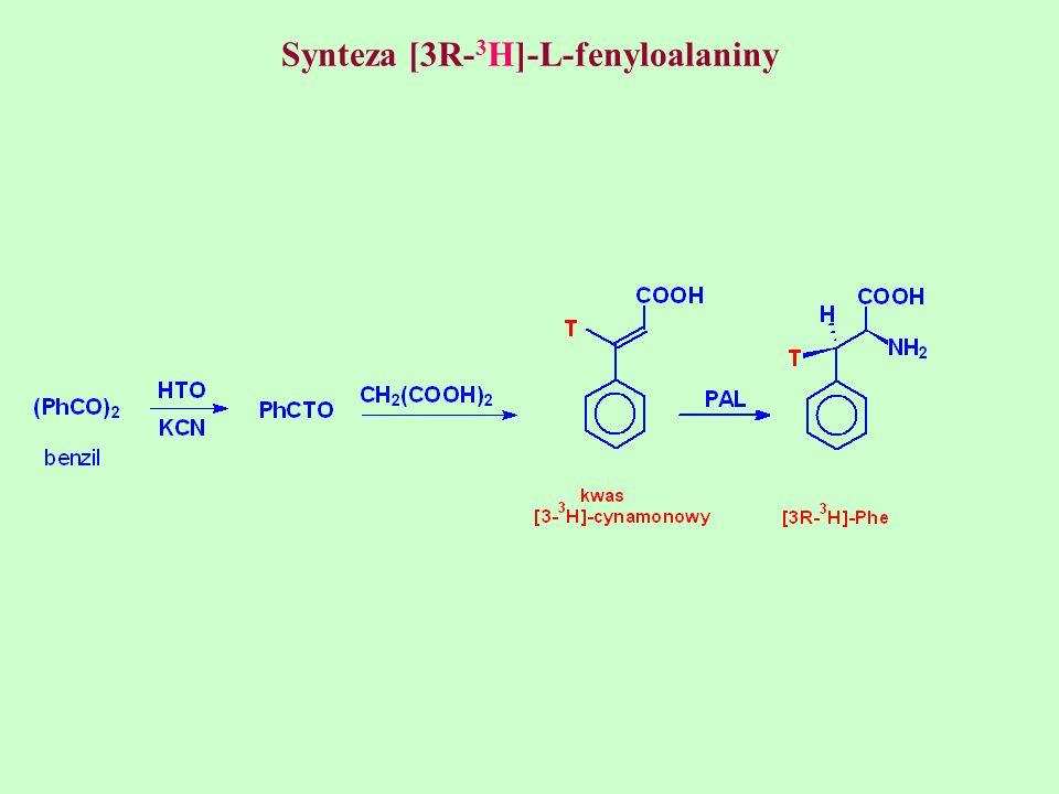 Synteza [3R-3H]-L-fenyloalaniny